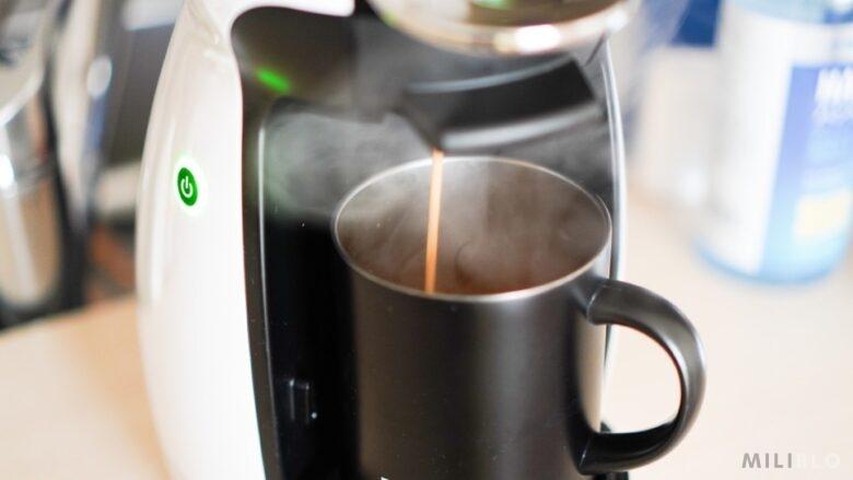 ドルチェグストでコーヒーを淹れる