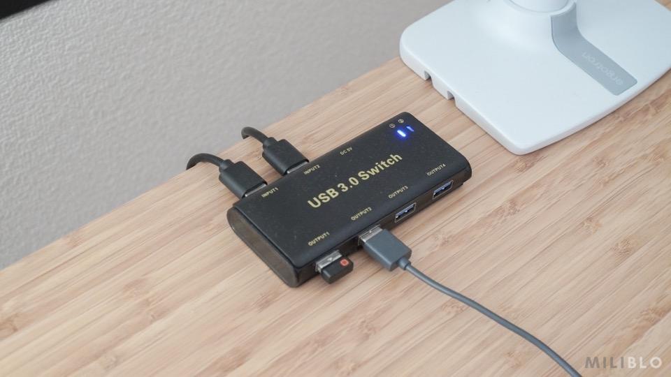 usb切替器「ABLEWE USB3.0」