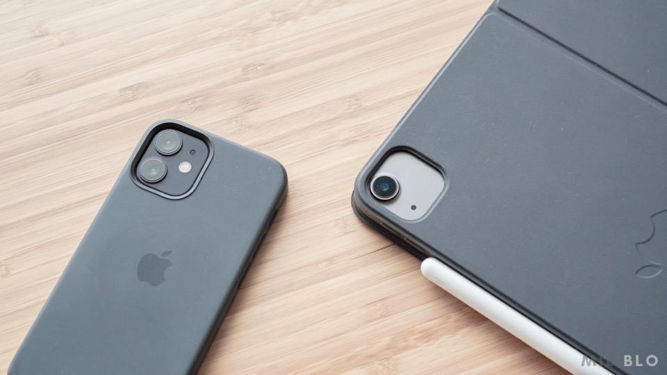 iPhone 12miniとiPad Air4