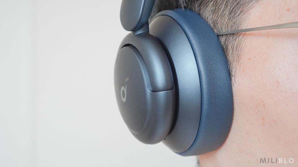Soundcore Life Q35を装着